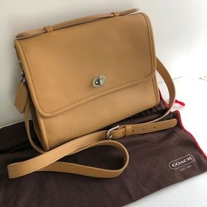 Coach Court Bag, Tan